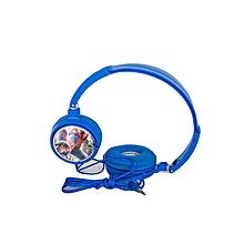 Classic Foldable Headphones - Blue