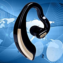 Wireless v18 Bluetooth 4.0 stereo headphones Sport Earphone Headset For Phone-Gold