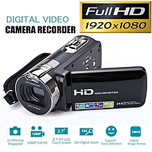 "24M Full HD 1080P Digital Video Camera DV Camcorder Recorder With 2.7"" LCD Screen Black"