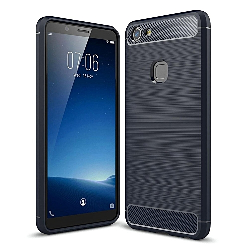 newest collection f8514 4b599 Vivo V7 Case , Mooncase Carbon Fiber Resilient Drop Protection Anti-Scratch  Rugged Armor Case Cover (As Shown)