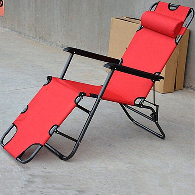 Generic Outdoor Adjust Folding Metal Chaise Lounge Chair Patio Pool