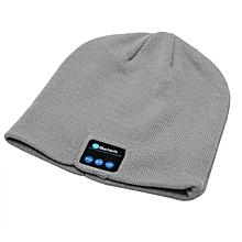 HP Fashion Wireless Bluetooth Smart Music Hat Men Women Cotton Knitted  Beanie f5ea5b5d8a65