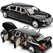 1:24 Mercedes Maybach S600 Limousine Diecast Metal Model Car W/ Box Xmas Gift.