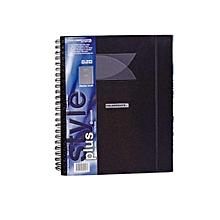 Foldermate Style Plus Display - A4 20PK- Black