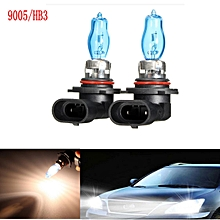 1Pair 9005/HB3 6000K 12V 100W White Car Driving HOD Xenon Bulb Lamp Light Headlight Halogen Car Head Light