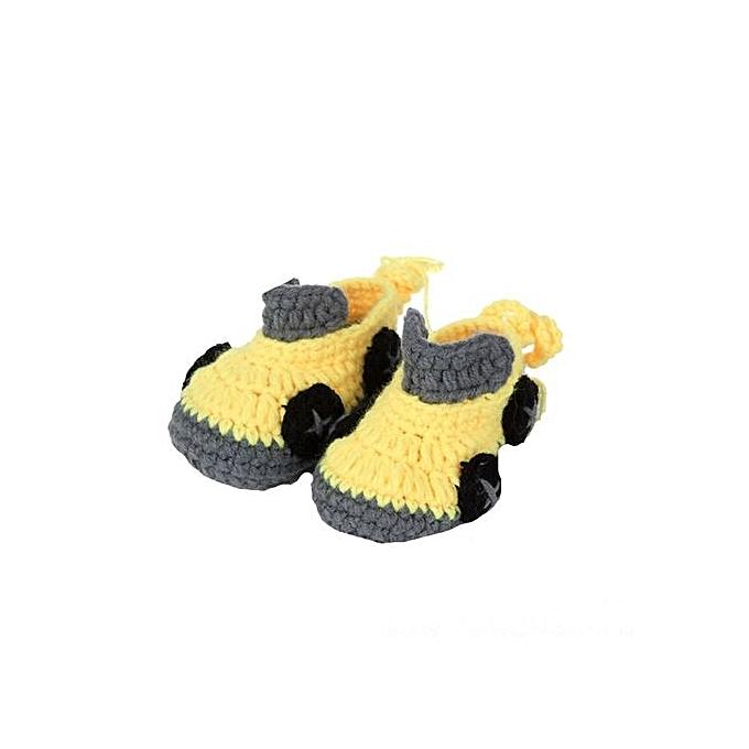 6637b993d Buy Generic Crib Crochet Casual Baby Handmade Knit Sock Infant Shoes ...