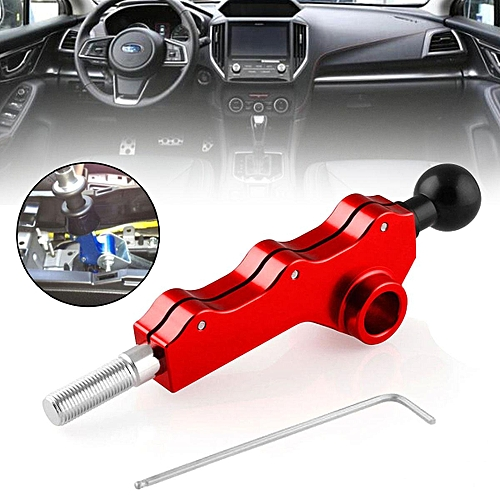 Red Double Adjustable Short Throw Shifter For Subaru Impreza WRX Legacy  Outback