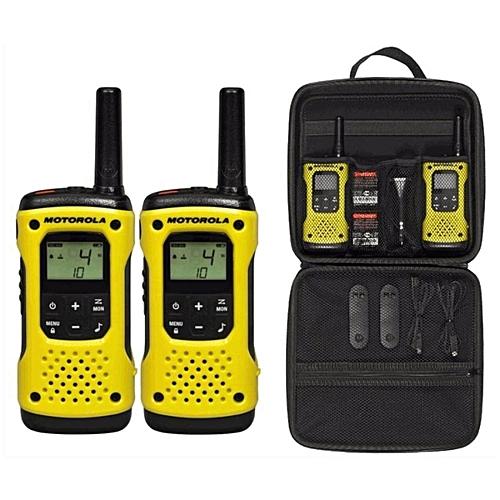 Motorola Tlkr T92 H2O PMR446 2-Way Walkie Talkie Waterproof Radio Twin Pack  with Travel Case[ETA 7 working days] WWD