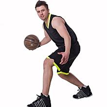 Customized Fashion Men Boy's Basketball Team Training Sports Jersey Set-Black Green(001S)
