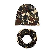 803c7708a165e jiuhap store Autumn Winter Baby Hat Girl Boy Cap Children Hats Toddler Kids  Hat Scarf Collars