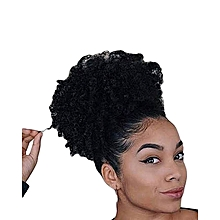 Afro Hair Bun Extension Colour #2+ FREE gift Inside!!!