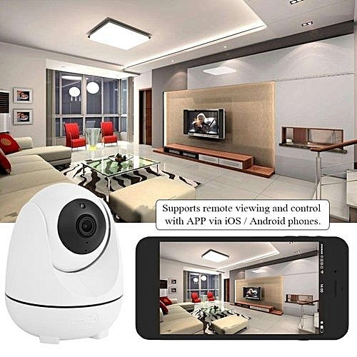200W Wifi 360° 1080P FHD Panoramic Wifi Camera Smart Sensor For Home  Security Cam US