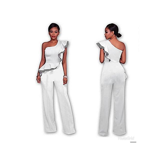 Buy Generic Elegant Sleeve Less Off Shoulder Jumpsuitrompers