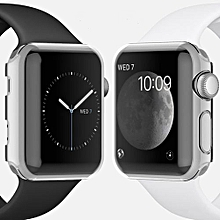 Clear Slim Thin Hard Transparent Case Cover Screen Protector For Apple Watch 2 42mm