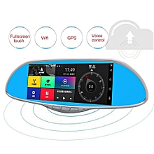 "7"" LCD HD Car Rearview Mirror DVR Camera Parking Monitor 170° Wide Angle"