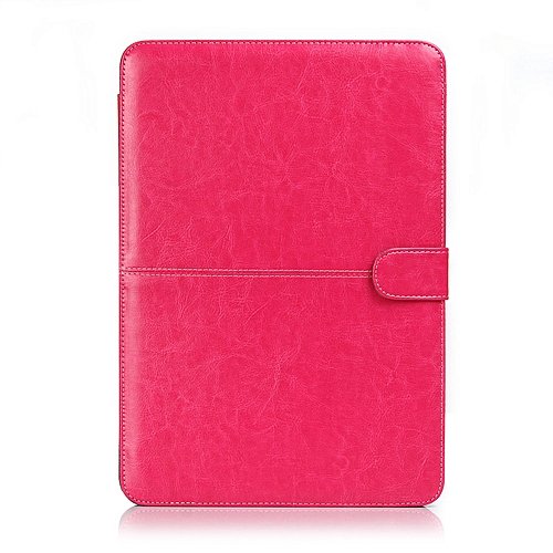 new arrivals dfd1e 753d9 Vintage PU Leather Case for Apple Macbook Air Pro Retina 11 12 13.3 15 for  Macbook Air 13 A1932 Laptop Case Cover Fundas( Touch Air 13 A1932)(Rose)