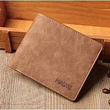 Elegant Executive Men Leather Wallet -Brown
