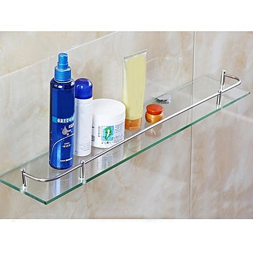 Fresh Glass Bathroom Bath Shower Shelf Caddy Rack Holder Tiers Rectangle Wall Mounted Ideas - Inspirational wall mounted shower caddy New