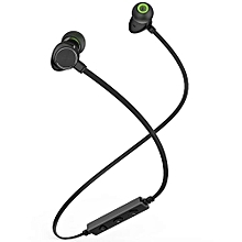 WT30 Magnetic Sports Bluetooth Earphone Earbuds-BLACK