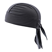 Mens Pirate Hat Breathable Foldable Sports Bandana Cap Quick Dry Cycling Headpiece