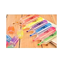 Thinkmax Office Fresh Large Capacity Candy Color Fragrance Fluorescent Highlighter Maker Pen Color: Purple Size: 1 Pcs