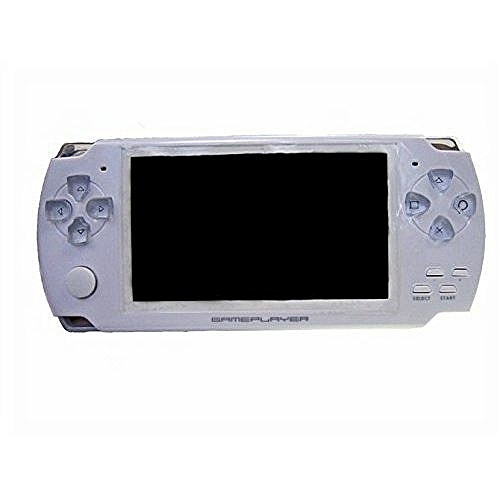 8GB 4.3-Inch TFT Screen Mp4 MP5 Player Game Player Supports Psp Game Camera Video E-book Music (White)