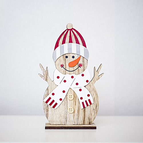 Allwin Christmas wooden decoration ornaments Christmas creative painted ornaments hold the hands @ Best Price | Jumia Kenya