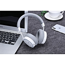 PLEXTONE BT270 Wireless HIFI Headphones Handsfree Bluetooth Headphone Bass Stereo Headset with Mic for Mobile phone- white