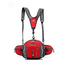 Men Women Waterproof Crossbody Sport Waist Pack Pouch Bag